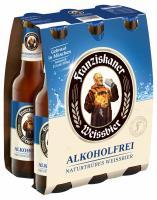 Franziskaner Weissbier Alkoholfrei 6x0,33 l (Mehrweg)