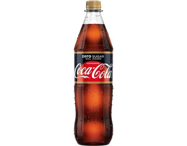 Coca Cola Koffeinfrei Zero 1 l (Mehrweg)