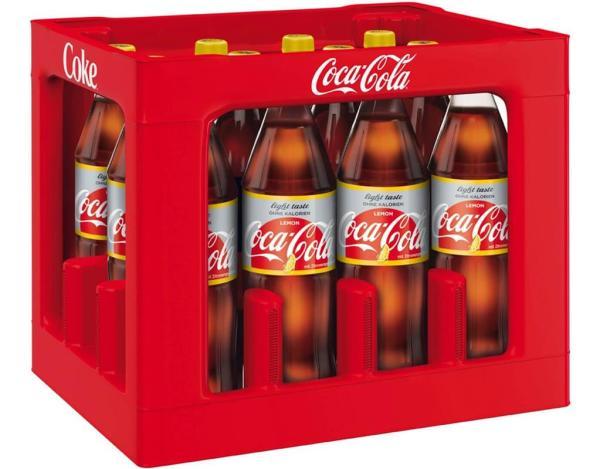 Coca Cola Light Lemon 12x1 l (Mehrweg)