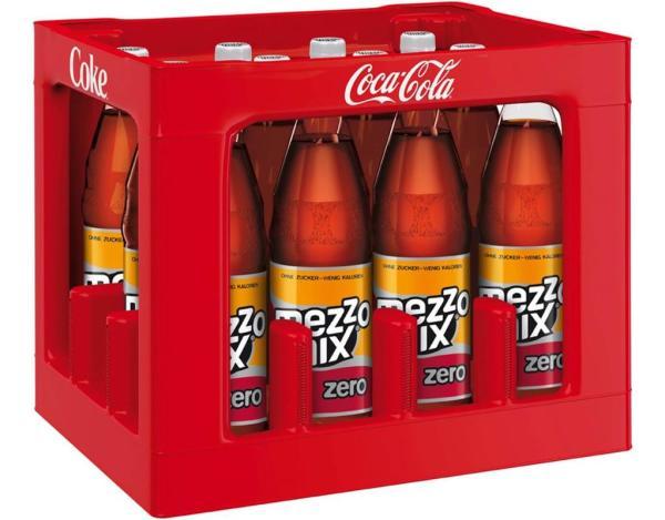Mezzo Mix Zero 12x1 l (Mehrweg)