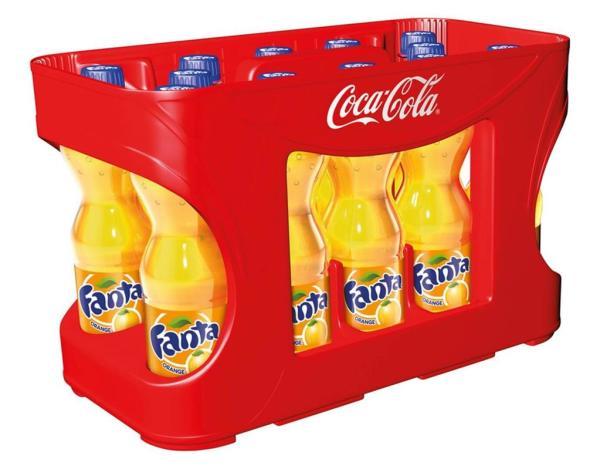 Fanta Orange 12x0,5 l PET (Einweg)