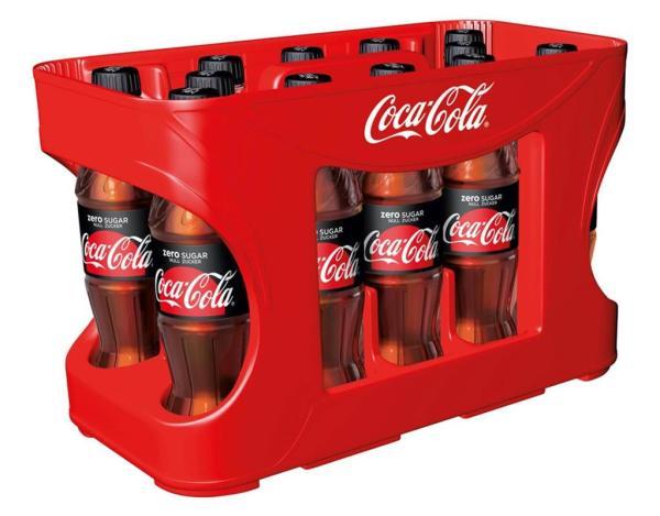 Coca Cola Zero 12x0,5 l PET (Einweg)