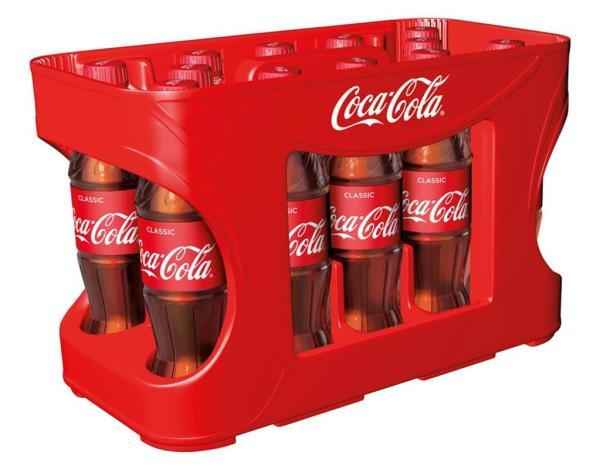 Coca Cola 12x0,5 l PET (Einweg)