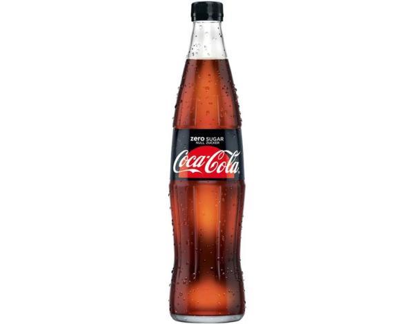Coca Cola Zero 0,5 l (Mehrweg)