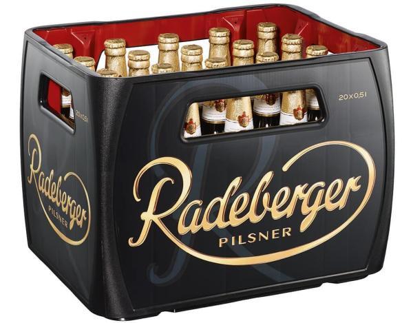 Radeberger 20x0,5 l (Mehrweg)