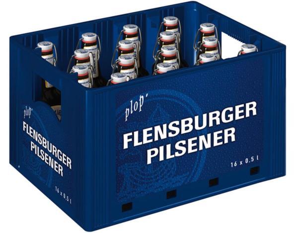 Flensburger Pils 16x0,5 l (Mehrweg)