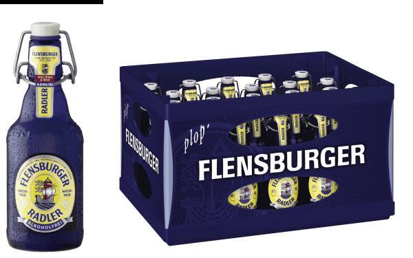 Flensburger Radler AF 20x0,33 l (Mehrweg)