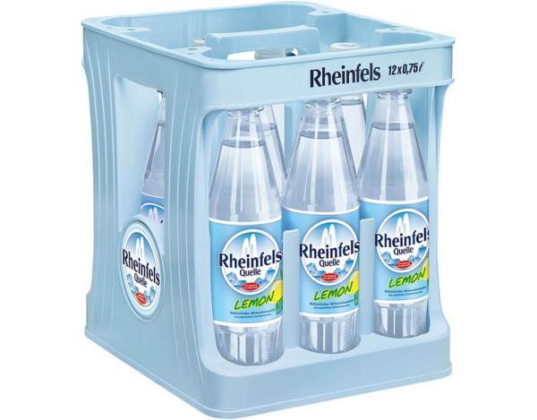 Rheinfels Lemon 12x0,75 l PET (Mehrweg)