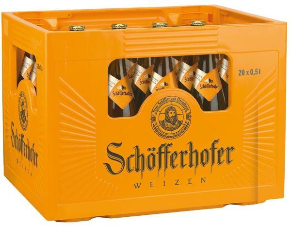 Schöfferhofer Weizen 20x0,5 l