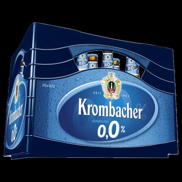 Krombacher 0,0% 20x0,5 l (Mehrweg)